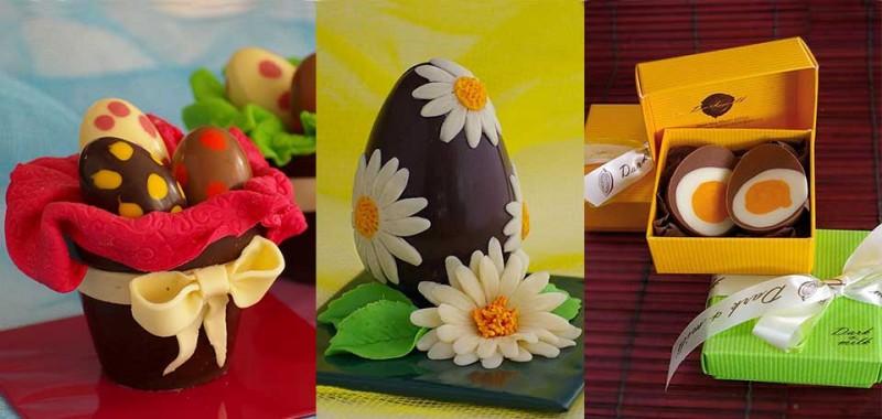 Шоколадови фигури Великден
