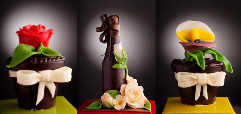 Шоколад 8 март