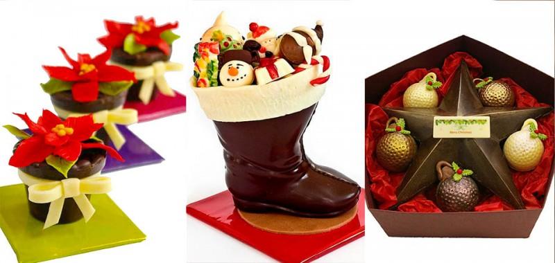 Шоколадови фигури Коледа