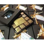 Кутия с ръчно изработени шоколадови бонбони