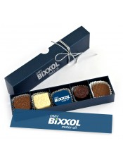 Кутия с 5 бр. бонбони с лого