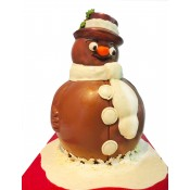 Шоколадов снежен човек, голям