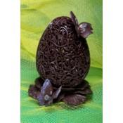 Шоколадово Великденско яйце с пеперуди