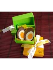 "Кутийка с яйце ""Жълтък"""