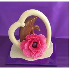 Шоколадов лебед