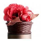 Шоколадова кошница с ружи