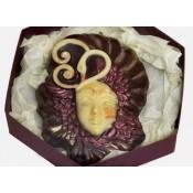 Шоколадова венецианска маска