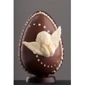 Шоколадово Великденско яйце с ангели
