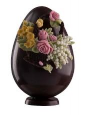 Шоколадово Великденско яйце с кошница
