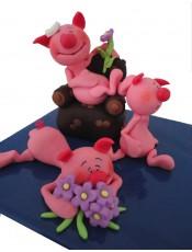 Захарни фигурки - прасенца
