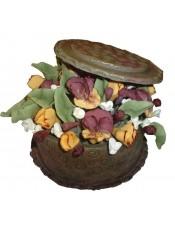 Захарна кутия с цветя